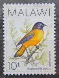 Poštovní známka Malawi 1988 Červenka hvězdičková Mi# 506