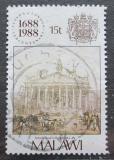 Poštovní známka Malawi 1988 Lloyds, 300. výročí Mi# 517