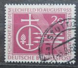 Poštovní známka Německo 1955 Bitva na Lechfeldu Mi# 216 Kat 4€