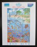 Poštovní známky Aruba 1997 Život v moři Mi# Block 1 Kat 19€