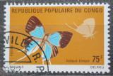 Poštovní známka Kongo 1971 Lolaus timon Mi# 325