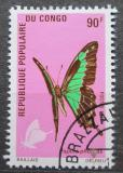 Poštovní známka Kongo 1971 Papilio phorcas Mi# 326