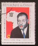 Poštovní známka Kongo 1970 Martin Luther King Mi# 213
