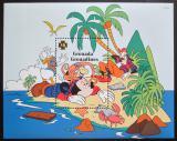 Poštovní známka Grenada Gren. 1995 Disney, Mickey Mouse Mi# Block 333