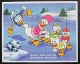 Poštovní známka Ghana 1998 Disney postavičky Mi# Block 342 Kat 10€