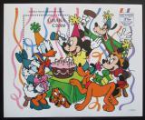 Poštovní známka Ghana 1995 Disney postavičky Mi# Block 267