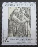 Poštovní známka Česká republika 1994 Umění, Lucas van Leyden Mi# 56