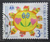 Poštovní známka Česká republika 1995 Vesničky SOS, 25. výročí Mi# 88