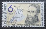 Poštovní známka Česká republika 1995 Wilhelm Conrad Röntgen Mi# 91