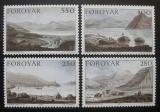 Poštovní známky Faerské ostrovy 1985 Umění, Edward Dayes Mi# 112-15 Kat 6€
