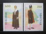 Poštovní známky Faerské ostrovy 1989 NORDEN, lidové kroje Mi# 182-83