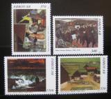Poštovní známky Faerské ostrovy 1991 Umění, Joensen-Mikines Mi# 223-26 Kat 7.50€