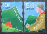 Poštovní známky Faerské ostrovy 2007 Evropa CEPT, skauting Mi# 607-08