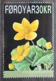 Poštovní známka Faerské ostrovy 2008 Blatouch bahenní Mi# 646 Kat 8€