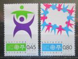 Poštovní známky Bulharsko 2005 Evropa CEPT, 50. výročí Mi# 4706-07