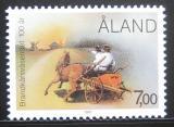 Poštovní známka Alandy, Finsko 1987 Hasiči, 100. výročí Mi# 23 Kat 4€