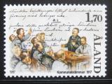 Poštovní známka Alandy, Finsko 1987 Smlouva z roku 1917 Mi# 25
