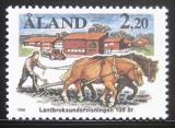 Poštovní známka Alandy, Finsko 1988 Farmářství Mi# 27