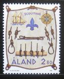 Poštovní známka Alandy, Finsko 1998 Skauting Mi# 144
