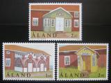 Poštovní známky Alandy, Finsko 1998 Verandy Mi# 145-47