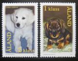 Poštovní známky Alandy, Finsko 2001 Psi Mi# 195-96
