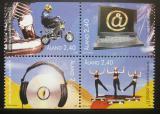 Poštovní známky Alandy, Finsko 1998 Aktivity mládeže Mi# 136-39