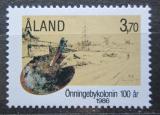 Poštovní známka Alandy, Finsko 1986 Umělecká kolonie, 100. výročí Mi# 19 Kat 5€