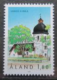 Poštovní známka Alandy, Finsko 1991 Kostel ve Vardo Mi# 54
