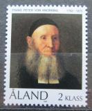 Poštovní známka Alandy, Finsko 1992 Umění, Karl Emanuel Jansson Mi# 56