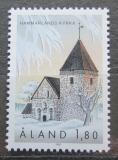 Poštovní známka Alandy, Finsko 1992 Kostel v Hammarland Mi# 64