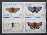 Poštovní známky Alandy, Finsko 1994 Motýli Mi# 82-85