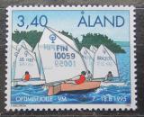 Poštovní známka Alandy, Finsko 1995 MS v jachtingu Mi# 104