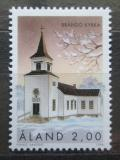Poštovní známka Alandy, Finsko 1996 Kostel v Brando Mi# 119