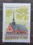 Poštovní známka Alandy, Finsko 1997 Kostel v Mariehamn Mi# 133