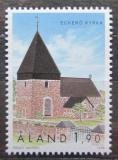 Poštovní známka Alandy, Finsko 1998 Kostel v Eckerö Mi# 148