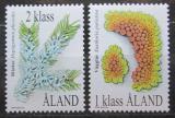 Poštovní známky Alandy, Finsko 1999 Lišejníky Mi# 159-60