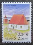 Poštovní známka Alandy, Finsko 2000 Kostel v Kökar Mi# 182