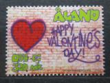 Poštovní známka Alandy, Finsko 2001 Svatý Valentýn Mi# 190