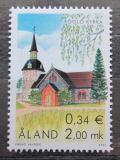 Poštovní známka Alandy, Finsko 2001 Kostel ve Föglö Mi# 197