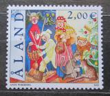 Poštovní známka Alandy, Finsko 2002 Vánoce Mi# 201 Kat 4.50€