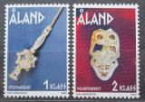 Poštovní známky Alandy, Finsko 2002 Doba železná Mi# 210-11