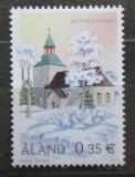 Poštovní známka Alandy, Finsko 2002 Kostel v Saltvik Mi# 212