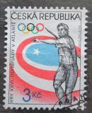 Poštovní známkaČeská republika 1996 LOH Atlanta, hod oštěpem Mi# 116
