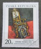 Poštovní známka Česká republika 1996 Umění, Endre Nemes Mi# 125