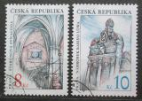 Poštovní známky Česká republika 1997 Židovské památky Mi# 142-43