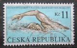 Poštovní známka Česká republika 1997 ME v plavání Mi# 152