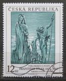 Poštovní známka Česká republika 1997 Umění, František Bílek Mi# 162