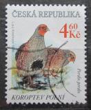 Poštovní známka Česká republika 1998 Koroptev polní Mi# 178
