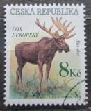 Poštovní známka Česká republika 1998 Los evropský Mi# 181