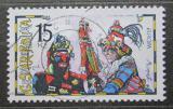 Poštovní známka Česká republika 1998 Evropa CEPT, masopust Mi# 183